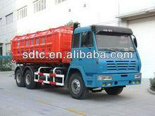 O'LONG 6x4 dumper truck yellow/ white/red/blue