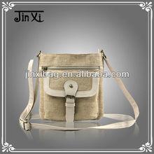 2012 yiwu market canvas shoulder bag good quality