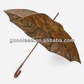 Nike fábrica na china stright guarda-chuva de camuflagem para vender