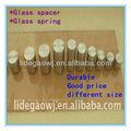 Espaciador de vidrio; tornillo; publicidad de alta calidad de uñas; vidrio de la primavera;