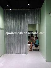 salon decorating curtain