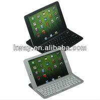 Ultra-thin Aluminum Alloy Wireless Bluetooth Keyboard Case For iPad Mini KKB029