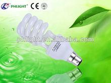 Hotsale 220V B22 20W Half Spiral energy quality products