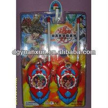 walkie talkie,interphone,talking phone,electrical toy from china dongguan ICTI manufacturer
