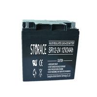 volta batteries for ups 12v 24ah AGM lead acid battery (SR24-12)