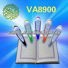 The best qualtiy 4GB islamic holy quran pen,quran read pen,Quran Reader pluma with coran mp3 player