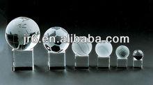 Glass/crystal decorative foot balls