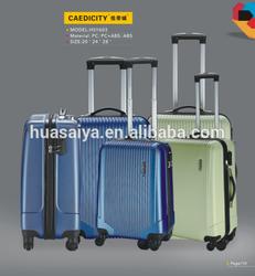 2014 President draw-bar box ABS Luggage cheap