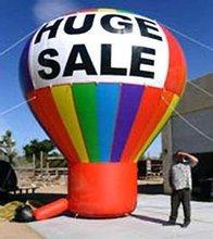 hot sale giant inflatable rainbow air balloon