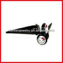 Fake ear stretchers body piercing jewelry