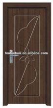 2014 new design wooden pvc door interior room