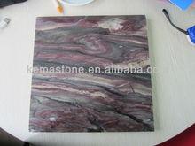 Vein Cut Purple Marble Tiles