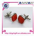 Senhora/resina/vermelho artesanato cufflink cufflink metal cufflinks senhoras artesanato emmetal