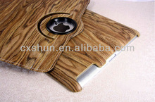 Wood Line Leather case for Ipad mini