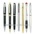 De alta calidad dewen bolígrafos promocionales de metal, kit de la pluma