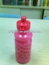 pink reusable plastic bottles sport water drinking water bottle for kids school