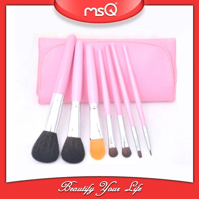 Pink Handle Makeup Brush
