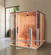 Solid wood far infrared sauna steam cabin room 07-K721