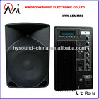 "15"" DJ SPEAKER STAGE BOX HYN-15A-MP3"