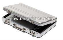 Aluminum Mini Briefcase business Card Holder/name card case