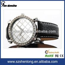 2012 latest leather brand unique unisex watch