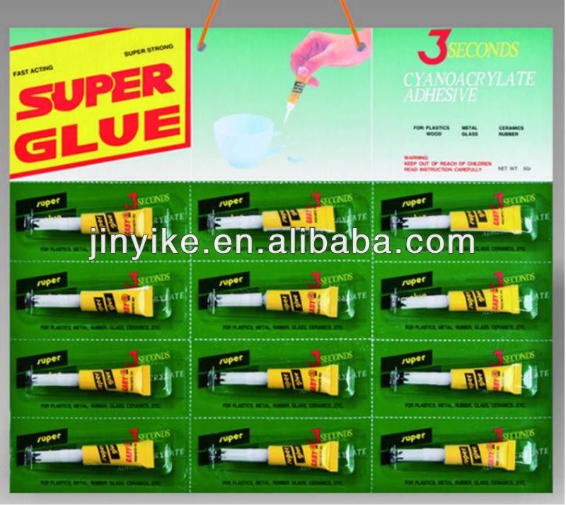 KI-K05 self adhesive glue for metal super glue fast glue good quality