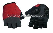 New Black/Green Half Racing Cycling Gloves