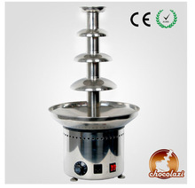 CHOCOLAZI ANT-8060 Auger 4 tiers commercial chocolate fountain machine