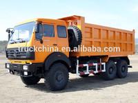 Power star 6x6 tipper truck for sale