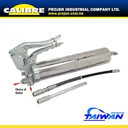 CALIBRE two-direction-outlet designed Heavy Duty piston Grease Gun