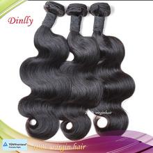 In stock factory price wholesale brazilian human hair body wave virgin hair sew in weave