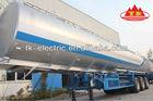 Alloy Fuel Tanker 45cbm trailer ( 45000L ) (Cylindrical-Type Tank)