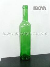 Spot 750ml Green Bordeaux Wine Bottle, Liquor Packaging