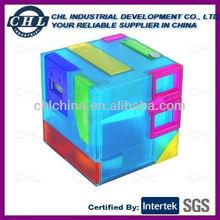 Cubic shape desk organizer