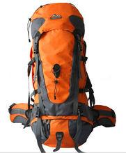 Mountaineering Bag backpack Travelling Bag 2013 Orange 80L