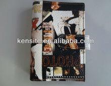 mini colourful leather book cover