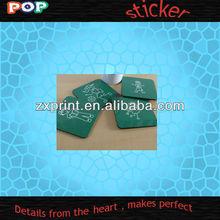 popular die cut sticker&decal transparent window stickers and decals