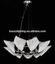 Decorative Modern hanging pendant light with glass balls