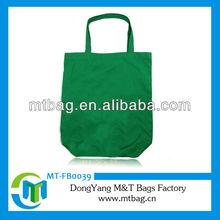 newly eco-green women canvas handbag a4 size tote bag