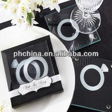 LC-003 Ring Acrylic Coaster Favor / Transparent Coaster