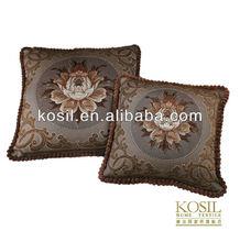European luxury round sofa cushion