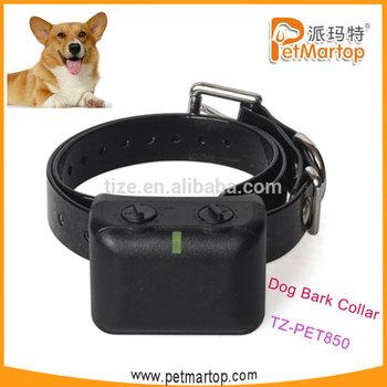 Waterproof dog shock collars TZ-PET850 No bark collar Waterproof&Rechargeable