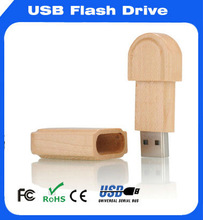 ROHS 8GB high quality wooden material promotional gift usb/promotional factory price USB flash drive