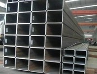 40x40 SS400 Square Steel Pipe Galvanized Black with high Quality and lower price