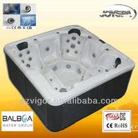 spa acrylic shell massage portable whirlpool for bathtub JY8016
