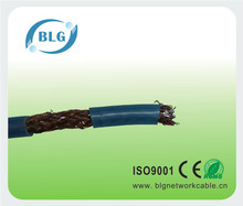 Coaxial Cable Double Shielding of Silver-coated Copper Wire