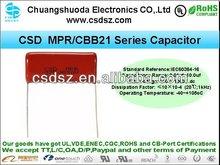 CSD-MPR Film Capacitor's Safe Light Capacitor