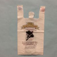 100% biodegradable shopping bag/t-shirt bag