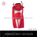 กระทิงแดงผู้ใหญ่หมวกฤดูหนาวสัตว์หมวกราคาถูกสำหรับขายส่ง