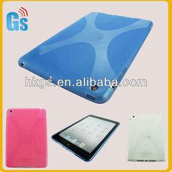 TPU X-Shape Gel Back Case Cover Skin Shell Protective for Apple iPad mini